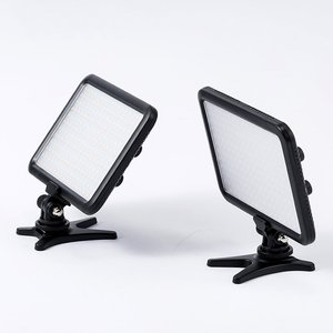 TV01 Leadwin Portable LED Video Camera Light Panel Lamp Photographic Lighting with LED Display for DSLR Camera