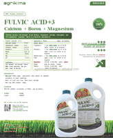 Huminrich Natural Organic Fluvic Acid With NPK Humic Benefits Of Fulvic Acid For Fruit