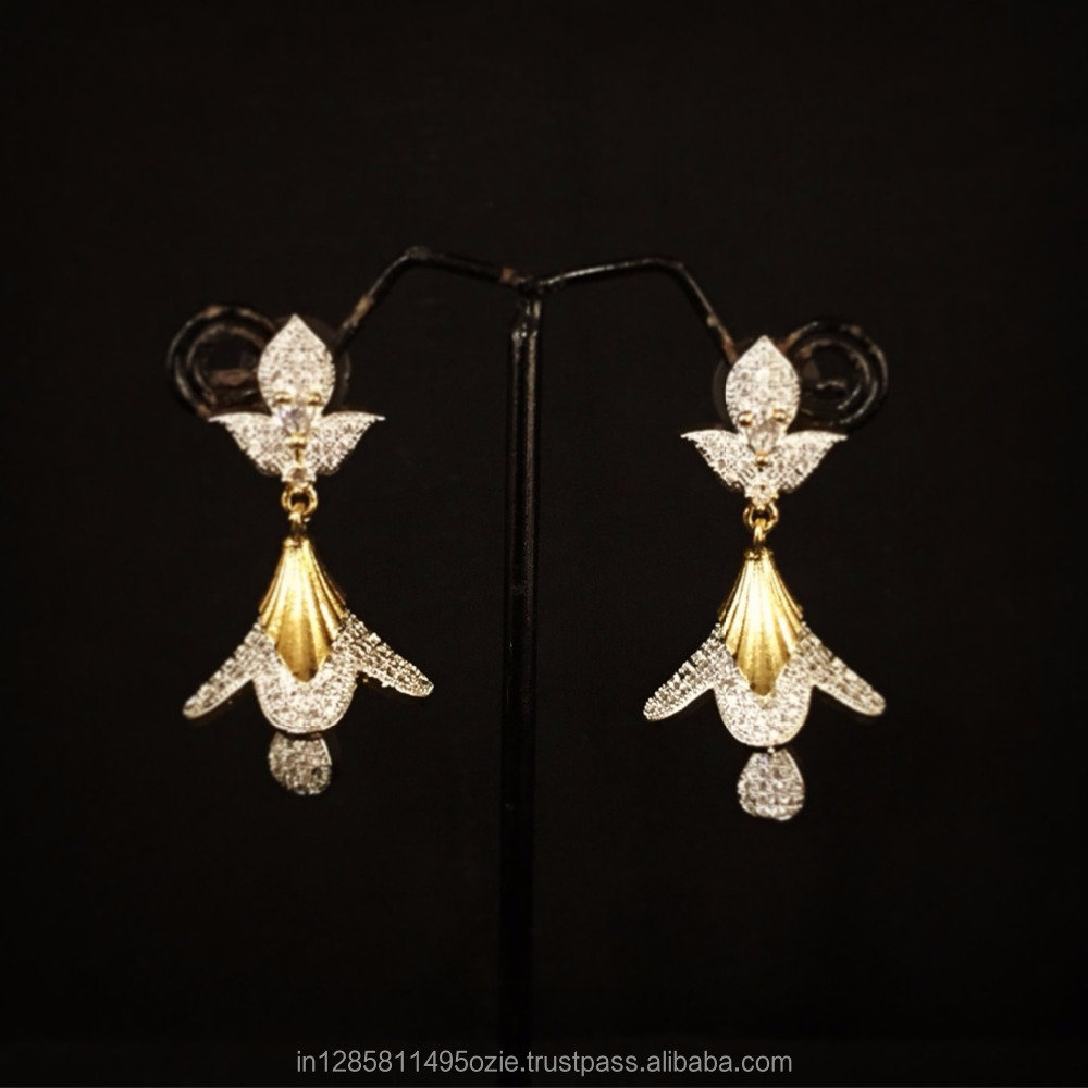 the pics jhumka diamond bluestone pariswarsh com earrings