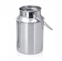 20L - stainless steel milk can (Deluxe - Single weld joint) with 304 grade