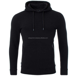 65% cotton 35% polyester slim fit sports sweatshirt gym jacket zipper pullover hoodie
