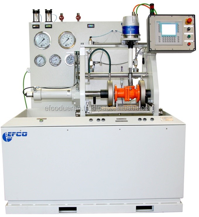 Horizontal Valve Test Bench for the over- and underwater testing of valves