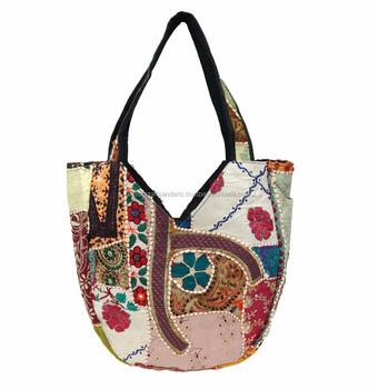 Indian Bohemian Style Gypsy Boho Hippie Women Shoulder Bags Ethnic Tribal Vintage Patchwork
