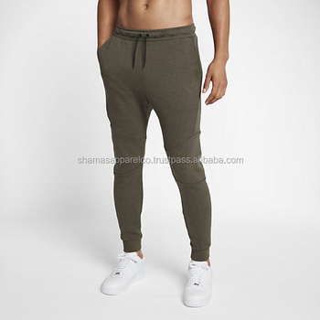 29c3ded15e9877 Army Green Color French Terry Custom Jogger Sweatpants Blank ...