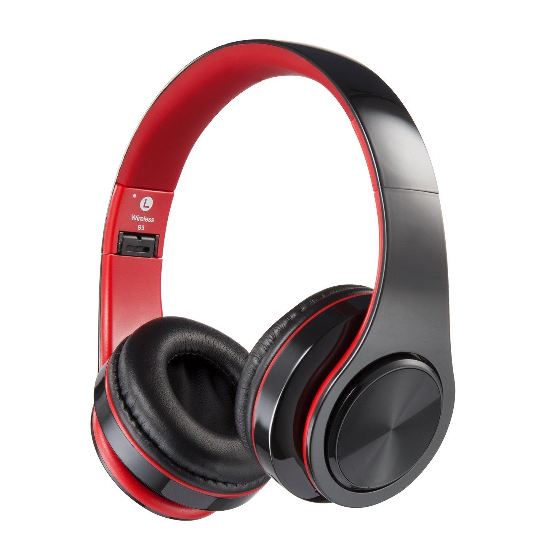 f199984b331 Get Quotations · Bluetooth Headphones Over Ear, Hi-Fi Stereo Wireless  Headset, Foldable, Soft Memory