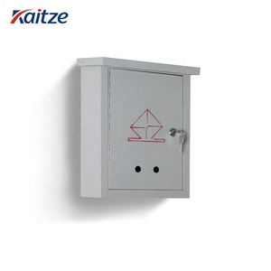 Cast stainless steel waterproof american mailboxes with safe lock