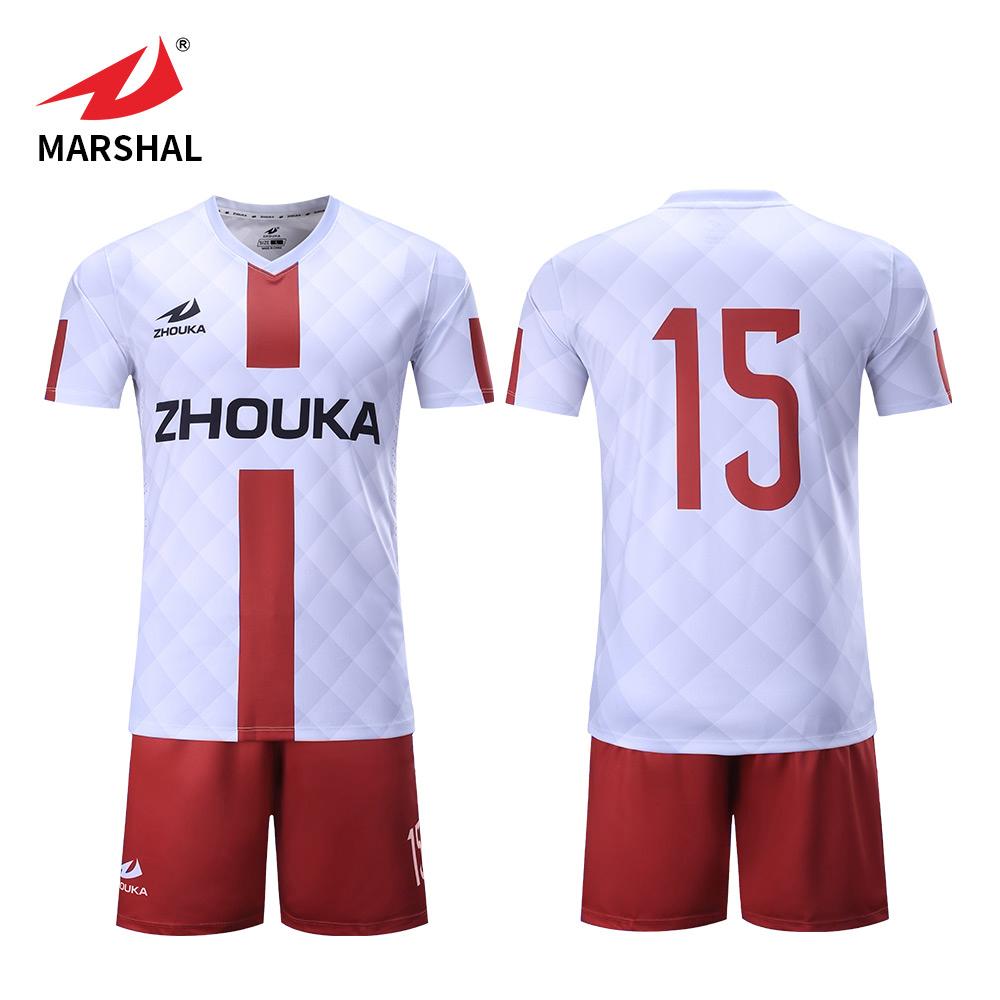 Marshal Professional Sports Jersey New Model American Football Shirt Maker  Team Uniforms Custom Soccer Jerseys 61c38c32d508