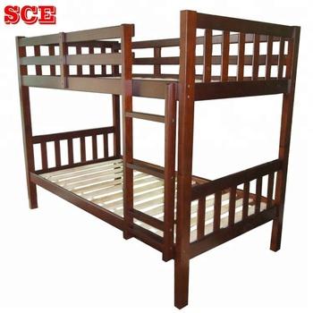 Vietnam Simple Design Cheap Wooden Bunk Bed Twin Twin Bed Buy Bunk