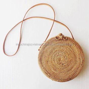 Wicker Straw Beach Bag Wholesale  Circle Wicker Rattan Bag - Buy ... ff9f9b255328e