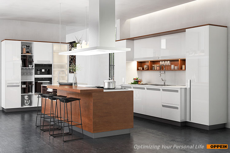 Oppein Australia Luxury Modern White Lacquered Complete Kitchen Cabinets Buy Complete Kitchen Australia Kitchen High Gloss Kitchen Cabinet Product