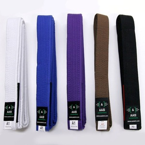 New Brazilian Jiu Jitsu Gi Belts 100% Cotton Material MMA BJJ Master Belt For Sale