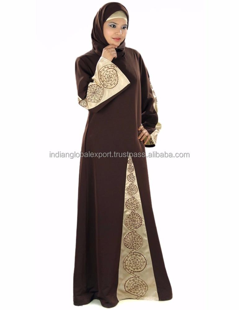Encuentre el mejor fabricante de abaya bordada y abaya bordada para ...