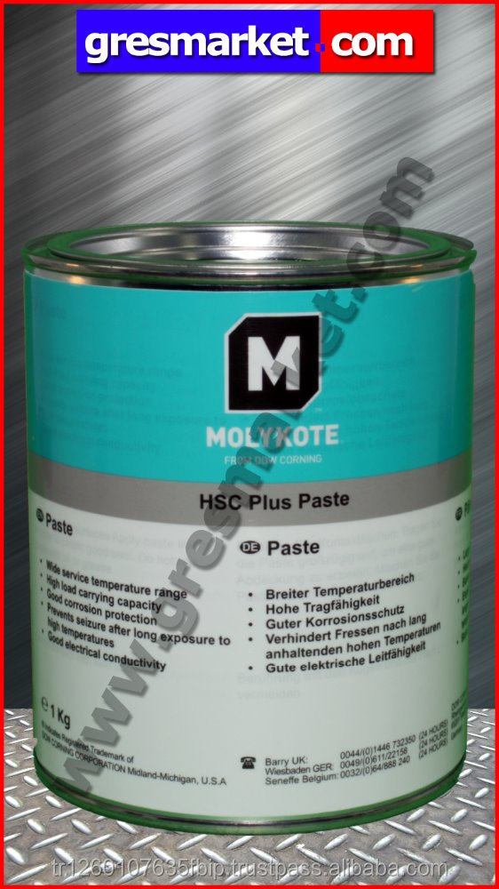 Molykote Hsc Plus Paste,1 Kg - Buy Grease Paste,Copper,Solid Lubricant  Product on Alibaba com