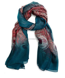 wholesale 2017 modal/modal Female Peacock shawls scarves