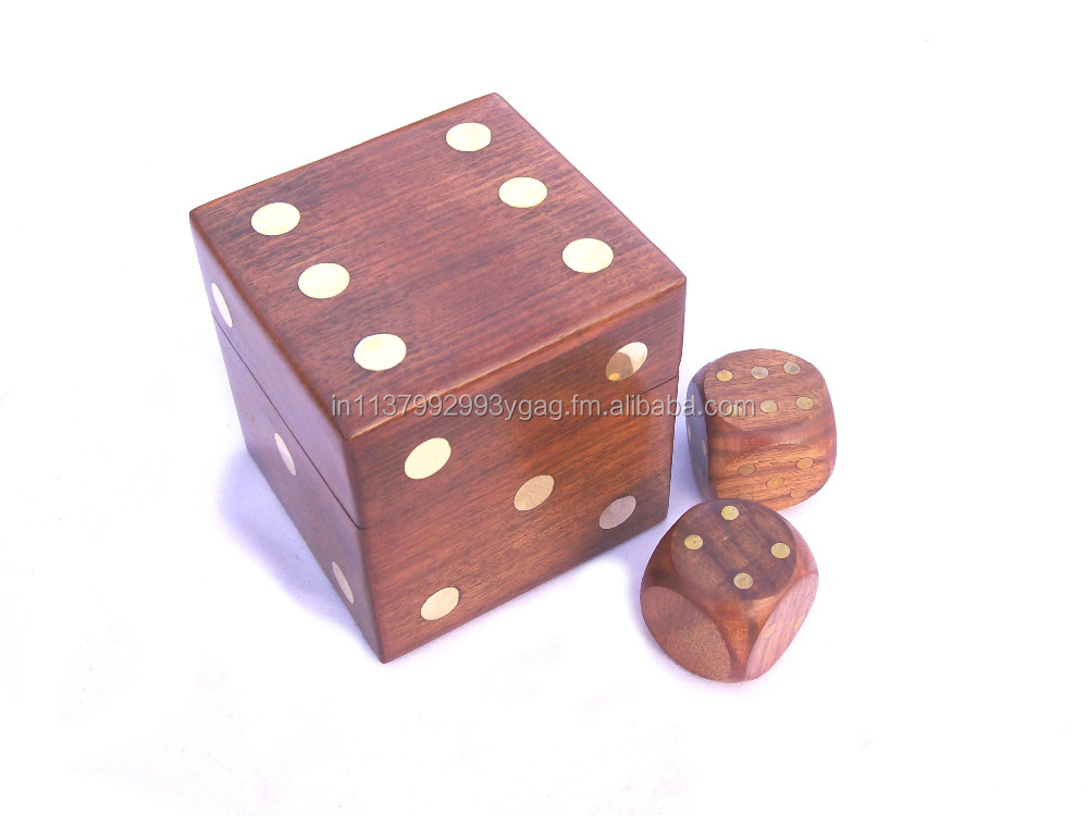 Indian Hand Made Wooden Dice Box Packaging Box Buy Wooden Dice