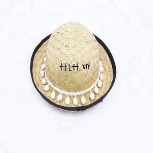 vietnam ladies straw hat raffia beach hat hot selling