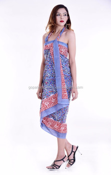 8dfa15626c58d Indian Latest Bikini Swimwear Cover Up Beach Dress Sarong Wrap Summer New Women  Bathing Suit