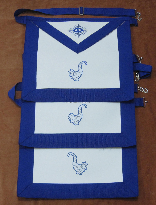 Master Mason Aprons And Masonic Blue Lodge Machine Embroidery Apron Set -  Buy Imitation Leather Apron Machine Embroidered,Hand Embroidered Masonic
