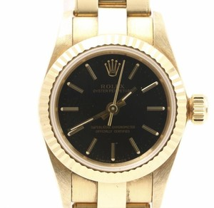 Used Mint Condition high Brand Used ROLEX Oyster Perpetual Y G 67198 Wrist Watches for bulk sale. Many brands available.