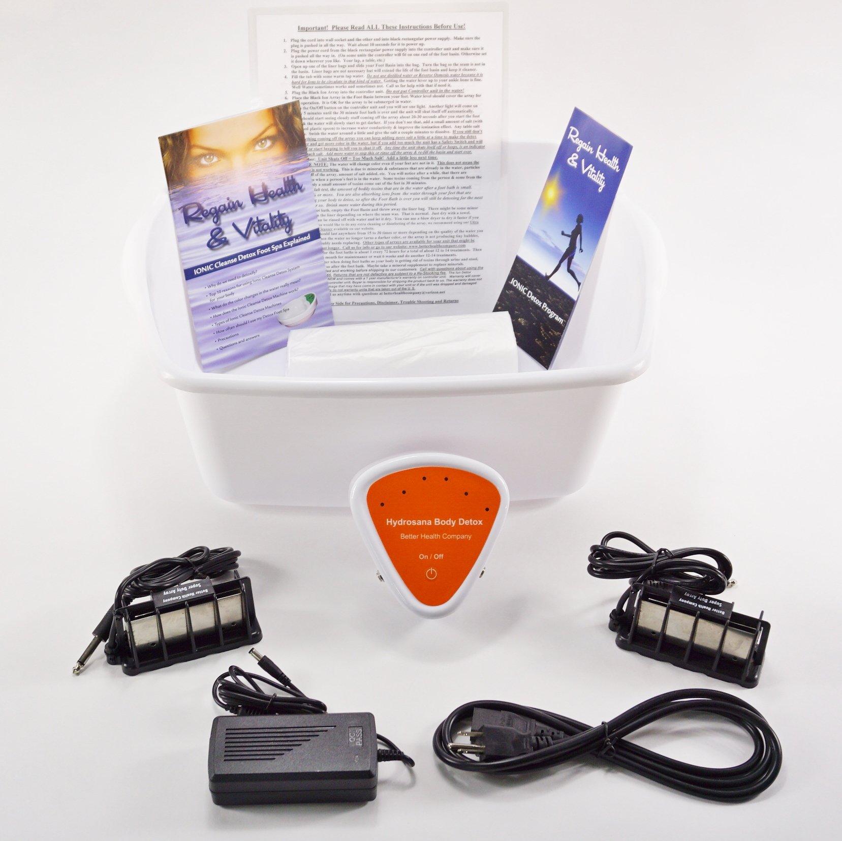 Buy Foot Spa - Ionic Foot Cleanse - Foot Spa Bath. Detox Foot Spa ...