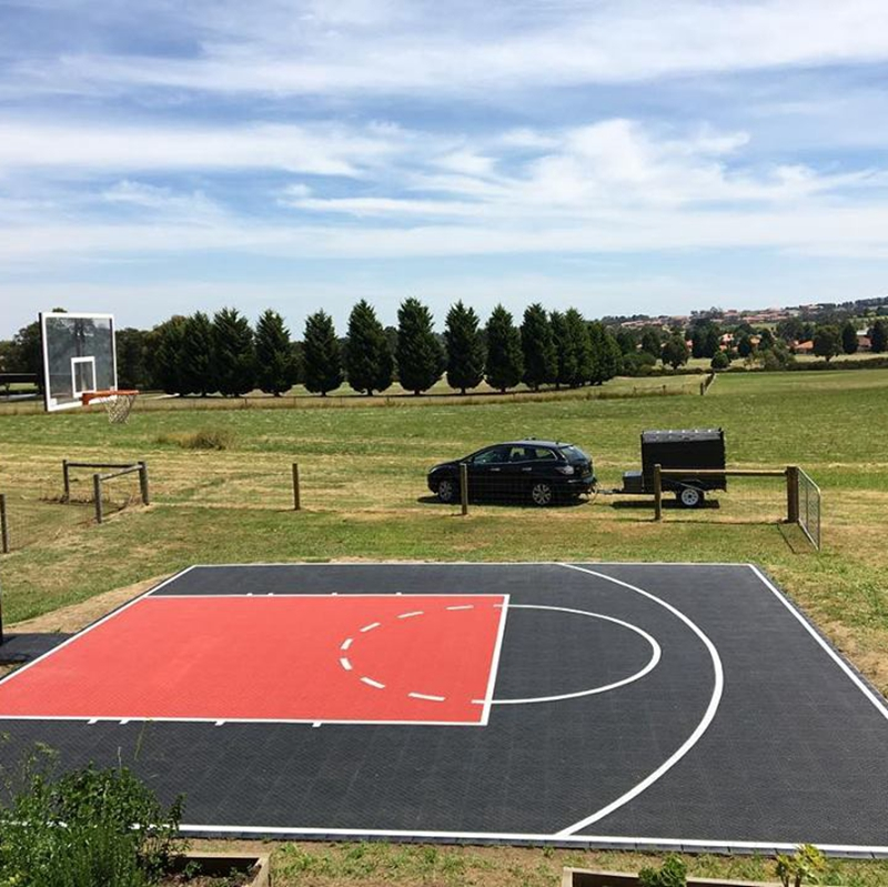 Backyard outdoor tennis basketbal volleybal hof vloeren
