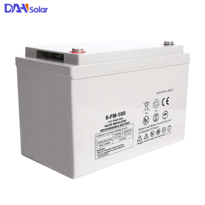 high quality gel agm battery 2v 1000ah 12V 24V 48V 100AH 100 ah solar battery