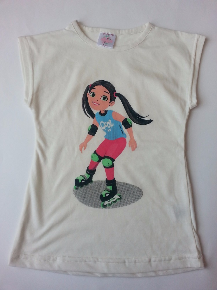 Beautiful Cotton Girls' T Shirts 2 to 6 Years