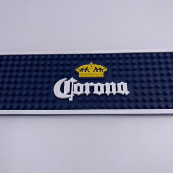 CORONA Extra Professional Made In China Bar Mat Custom Logo, Beer PVC Bar Mat