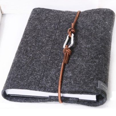 2018 new product fashion custom felt note book for diary