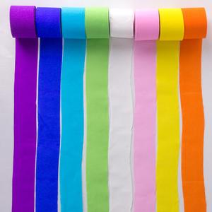 Wholesale Birthday Wedding Party Decoration Supply Color Fringe Crepe Paper colourful DIY Streamers