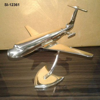 Metal Airplane Home Decor
