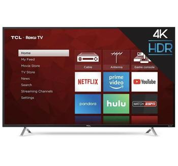 Sales For Brand New 100% Authentic Tcl 55r617 55-inch 4k Ultra Hd Roku  Smart Led Tv (2018 Model) - Buy Televisions Product on Alibaba com