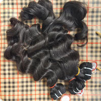 High Quality Human Hair Weavon Tangle Free Big Free sample best quality spanish wave 40 inch human hair extension weft straight