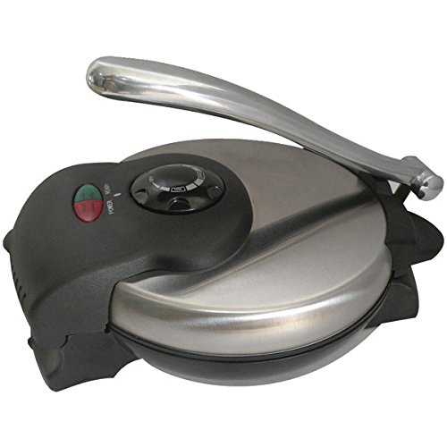 """Brentwood Tortilla Maker With Stainless Steel Finish """"Product Category: Kitchen Appliances & Accessories/Small Kitchen Appliances"""""""