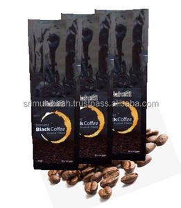 Malaysia Sugar Free Premium Halal Blended Black Coffee Maker Quality Chinese Product