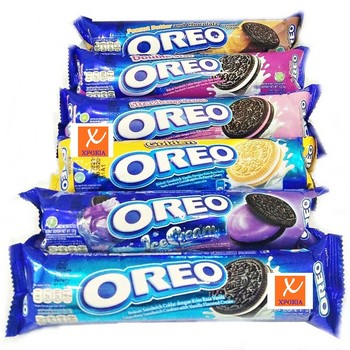 OREO Biscuit Sandwich MIX VARIANTS 137gr | Indonesia Origin | Cheap popular chocolate cookies with cream filling