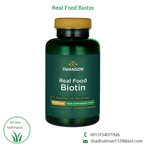Best Quality Real Food Biotin Vitamins Supplement Capsules for Hair