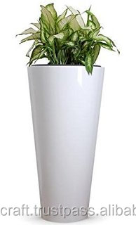 Fiberglass Planter Flower Pot