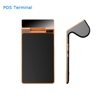 "Portable POS terminal with NFC reader/7inch tablet&4.3"" mini customer display/bluetooth"
