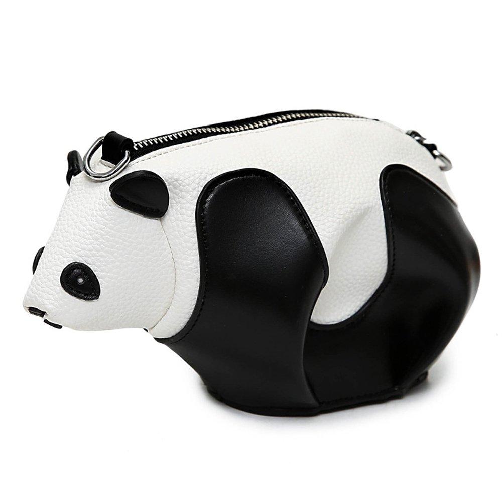 Women Cute Stuffed Panda Shape Mini Casual Shoulder Bag Cute Girls Handbag  Cross Body Purse Bag 005a5f7e2
