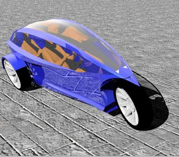 Electric Tilting Three Wheeler/trike Concept (we're Issuing Crypto Tokens   Join Our Initial Coin Offering At Elektrikka com) - Buy Electric Three