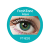 New design FreshTone glittering blends non-prescriptive color contact lenses at best discount prices and express shipping at low