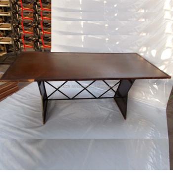 Tavoli Da Pranzo In Stile.Stile Antico Francese Tavolo Da Pranzo Metallo Tavolo Da Pranzo