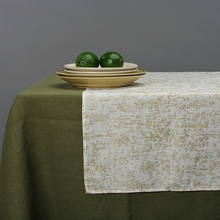 Stonewashed Couverture <span class=keywords><strong>de</strong></span> Table À Manger En Lin