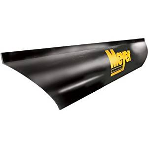 Universal Heavy Duty Rubber Snow Deflector Kit up to 8-10 Ft Straight Plow