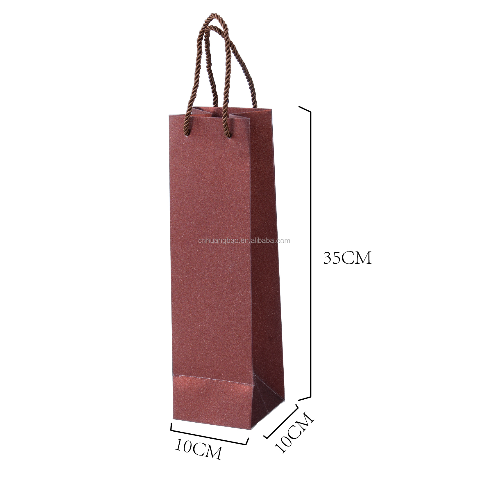 paper wine bottle bag for gift red wine bag High Quality Customized