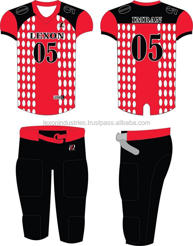 e912d92b367 American Football Uniform Awesome Designs - Buy Custom American ...
