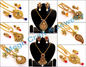 2018 Bollywood Fashion Bridal Jewelry Set Bridal Jewellery South