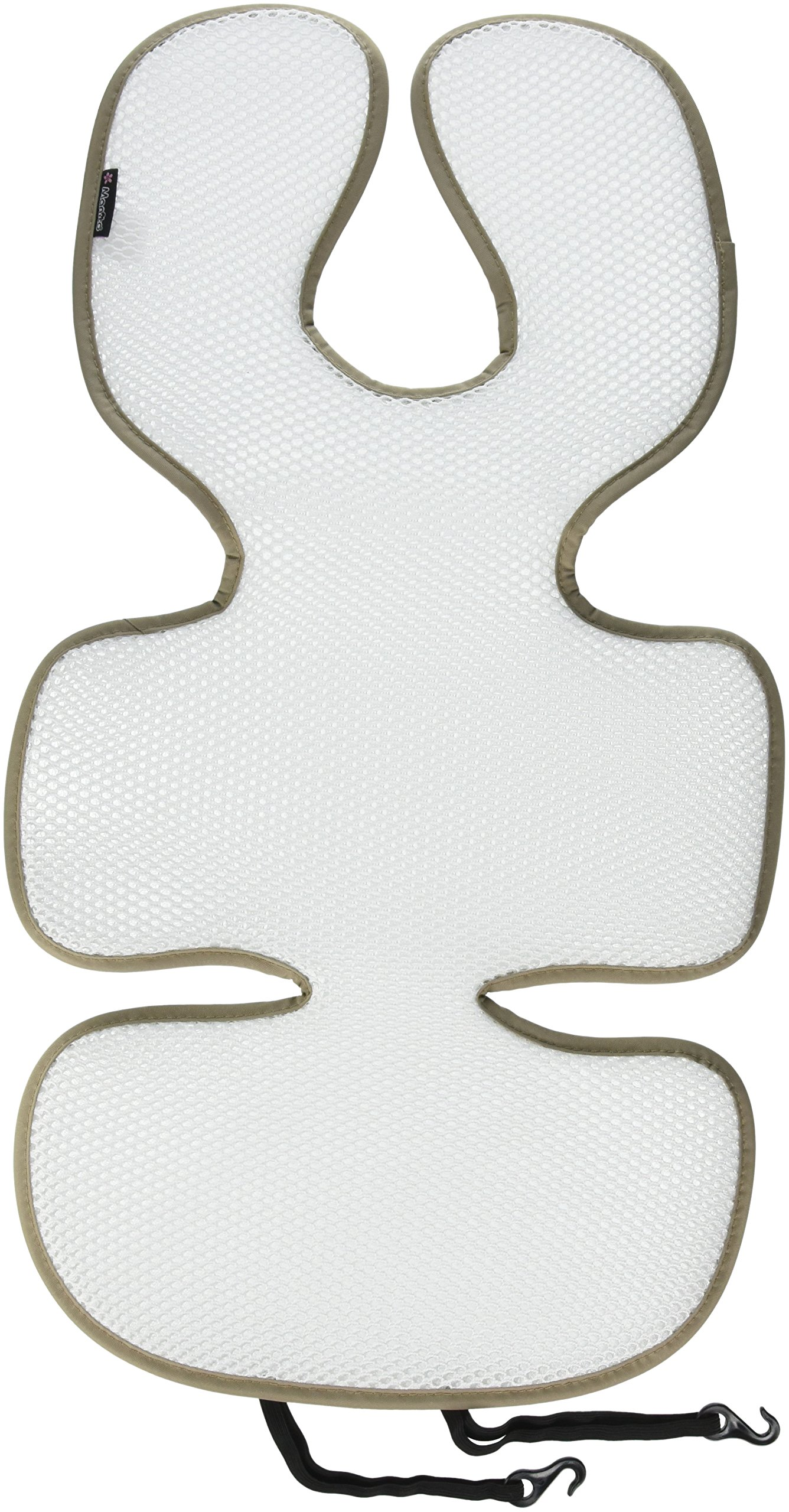 Manito Breath Original 3D Mesh Seat Pad//Cushion//Liner for Stroller and Car Seat Beige