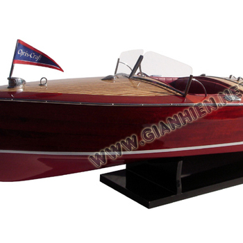 Chris Craft Racing Runabout 1953 Wooden Model Boat - Craft Boat - Buy Chris  Craft Racing Runabout 1953,Wooden Craft,Handicarft Vietnam Product on